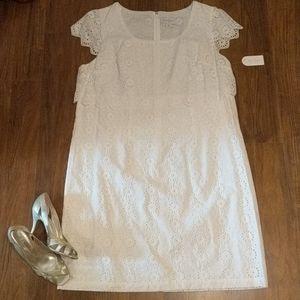 NWT Jessica Simpson white dress